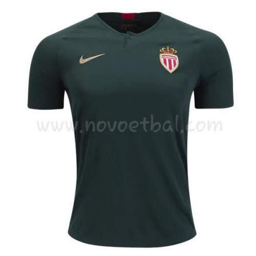 AS Monaco 2018-19 Short Sleeve Away Soccer Jersey