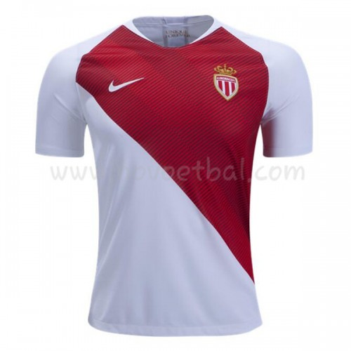 AS Monaco 2018-19 Short Sleeve Home Soccer Jersey