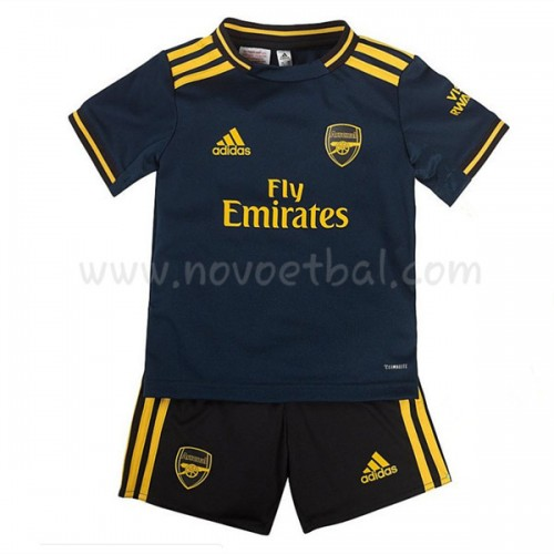 Voetbaltenue Kind Arsenal 2019-20 Third Shirt Korte Mouwen