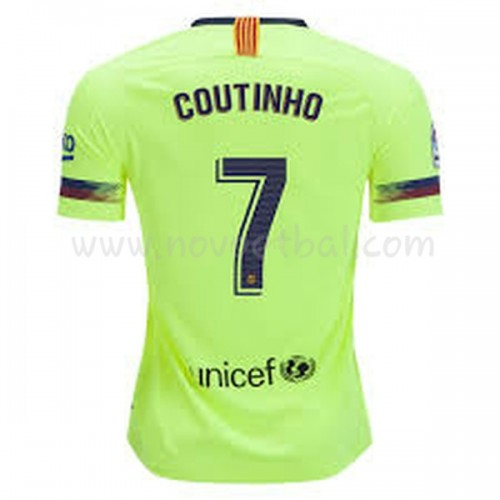 Barcelona 2018-19 Philippe Coutinho 7 Short Sleeve Away Soccer Jersey