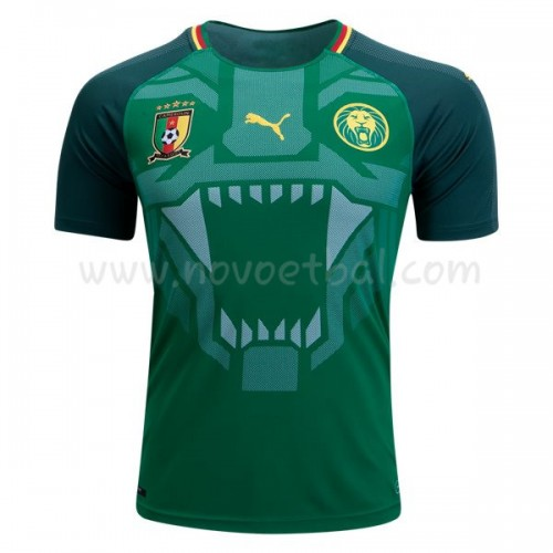 Cameroon 2018 Short Sleeve Home Soccer Jersey
