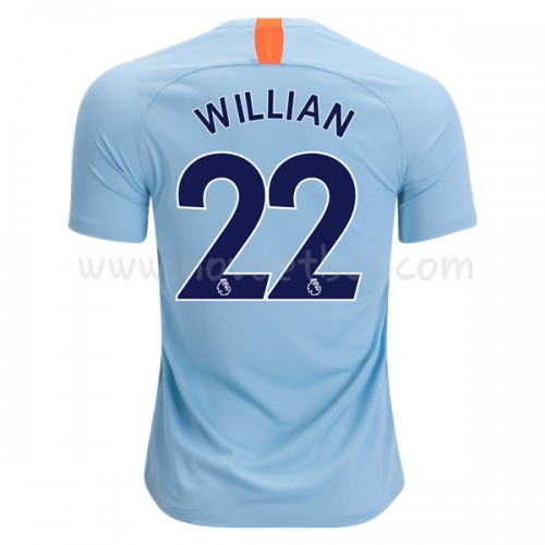 Chelsea 2018-19 Willian Borges da Silva 22 Short Sleeve Third Soccer Jersey