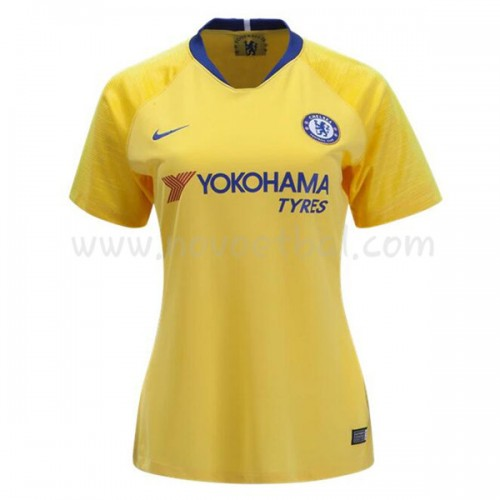 Chelsea Womens 2018-19 Short Sleeve Away Soccer Jersey