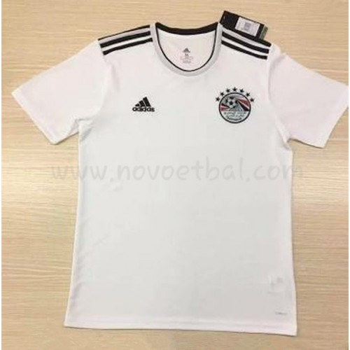 Egypt 2018 Short Sleeve Away Soccer Jersey