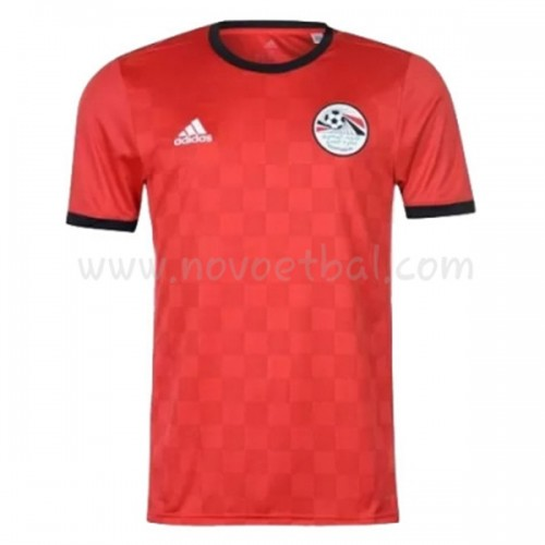 Egypt 2018 Short Sleeve Home Soccer Jersey