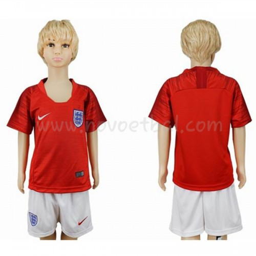 England Kids 2018 World Cup Short Sleeve Away Soccer Jersey