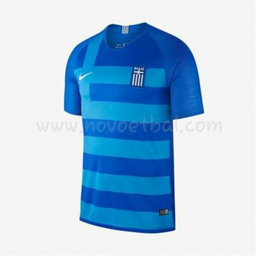 Greece 2018 Short Sleeve Home Soccer Jersey
