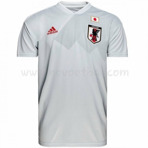 Japan 2018 Short Sleeve Away Soccer Jersey