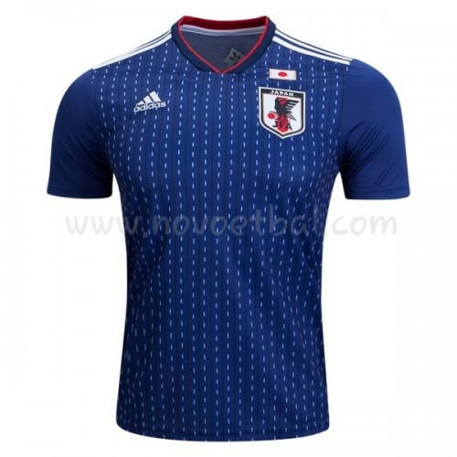 Japan 2018 Short Sleeve Home Soccer Jersey
