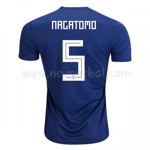 Japan 2018 Yuto Nagatomo 5 Short Sleeve Home Soccer Jersey