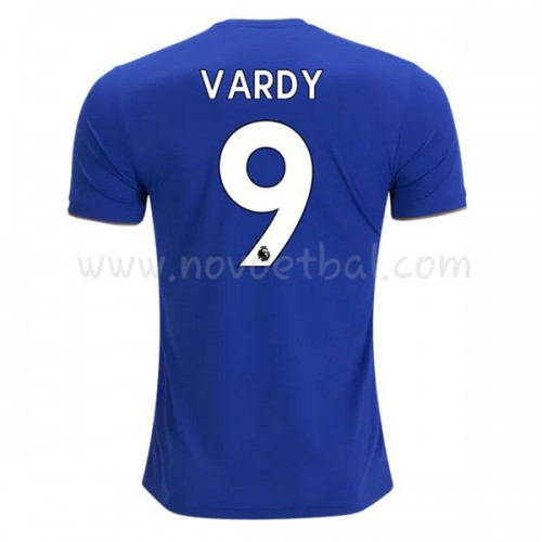 Leicester City 2018-19 Jamie Vardy 9 Short Sleeve Home Soccer Jersey