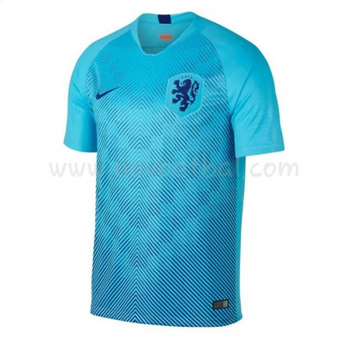 Netherlands 2018 Short Sleeve Away Soccer Jersey