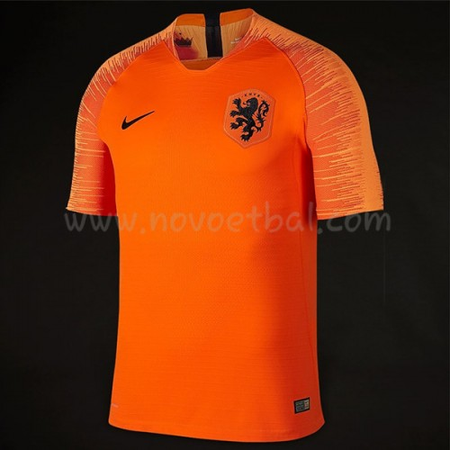 Netherlands 2018 Short Sleeve Home Soccer Jersey