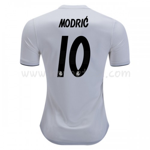 Real Madrid 2018-19 Modric 10 Short Sleeve Home Soccer Jersey