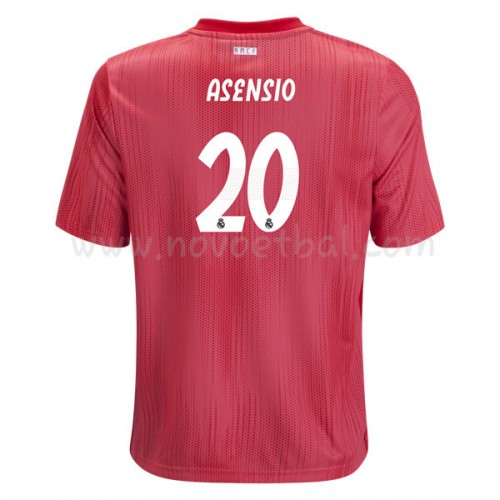 Real Madrid 2018-19 Marco Asensio 20 Short Sleeve Third Soccer Jersey