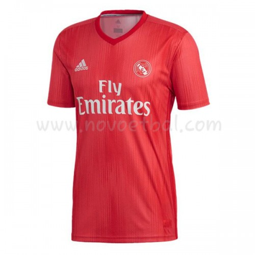 Real Madrid 2018-19 Short Sleeve Third Soccer Jersey