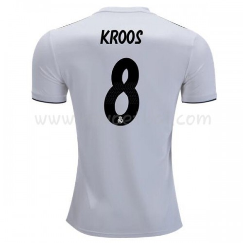 Real Madrid 2018-19 Toni Kroos 8 Short Sleeve Home Soccer Jersey