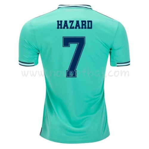 Goedkope Voetbaltenue Real Madrid 2019-20 Eden Hazard 7 Third Shirt Korte Mouwen