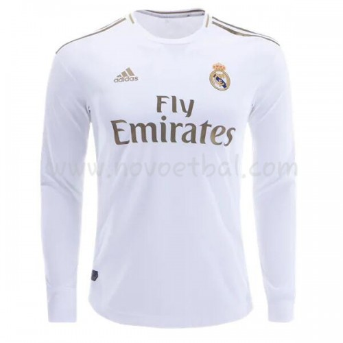 Goedkope Voetbaltenue Real Madrid 2019-20 Thuisshirt Lange Mouw