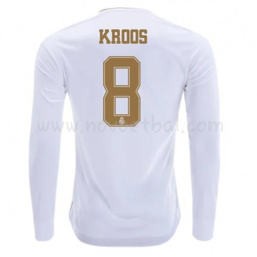 Goedkope Voetbaltenue Real Madrid 2019-20 Toni Kroos 8 Thuisshirt Lange Mouw