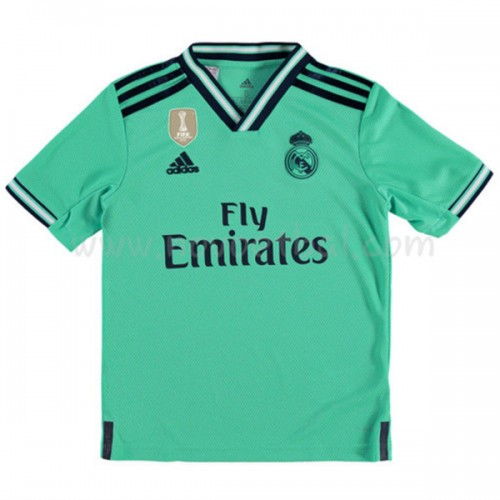 Voetbaltenue Kind Real Madrid 2019-20 Third Shirt Korte Mouwen