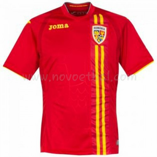 Romania 2018 Short Sleeve Away Soccer Jersey
