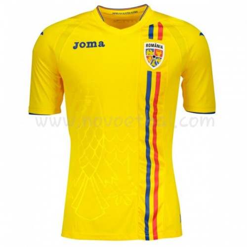 Romania 2018 Short Sleeve Home Soccer Jersey