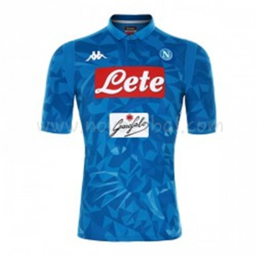 SSC Napoli 2018-19 Short Sleeve Home Soccer Jersey