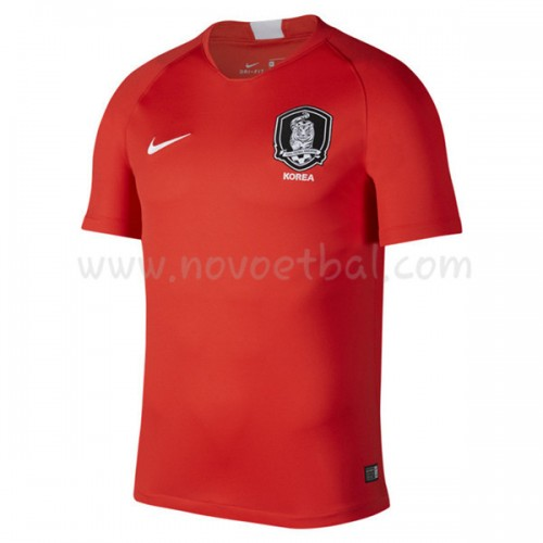 South Korea 2018 Short Sleeve Home Soccer Jersey