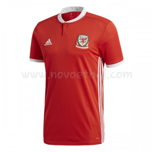 Wales 2018 Short Sleeve Home Soccer Jersey