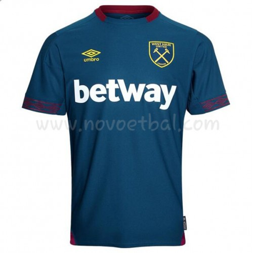 West Ham United 2018-19 Short Sleeve Away Soccer Jersey