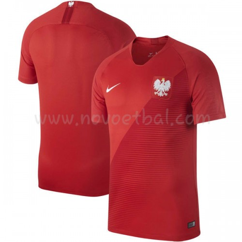 Poland 2018 Short Sleeve Away Soccer Jersey